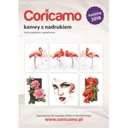 Katalog Kanevas mit Aufdruck Coricamo 2018