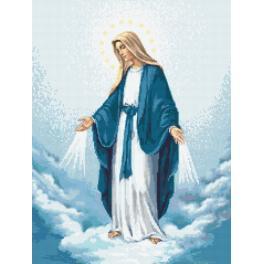 AN 10131 Aida mit Aufdruck - Mutter Gottes der Unbefleckten Empfängnis