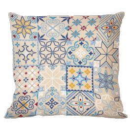 Stickpackung mit Kissenbezug - Marokkanisches Kissen I