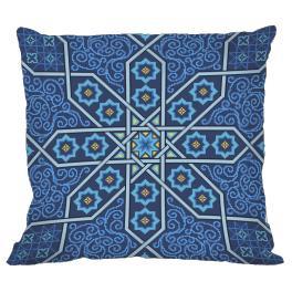Zählmuster - Marokkanisches Kissen II