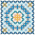 Stickpackung mit Kissenbezug - Marokkanisches Kissen V