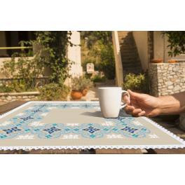 Zählmuster online - Marokkanisches Serviette I