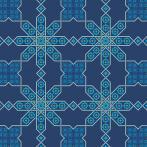 Zählmuster – Marokkanisches Tischdecke II