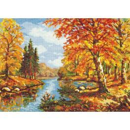 Stickpackung - Der goldene Herbst