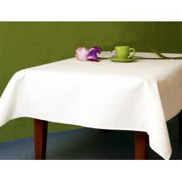 972-01 Tischdecke Aida 110x160 cm weiß