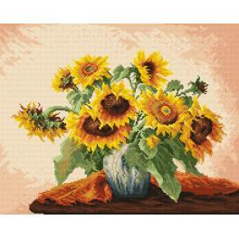 K 740 Gobelin - Sonnenblumen