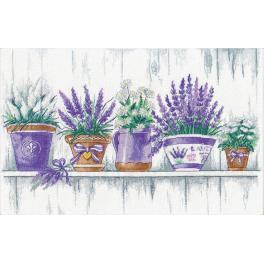Stickpackung - Lavendel Zärtlichkeit