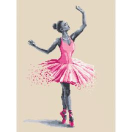 Zahlmuster online - Baletttänzerin - Flüchtige Momente