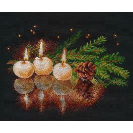 Stickpackung - Kerzenschein