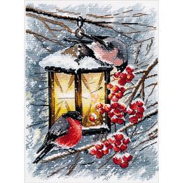 Stickpackung - Weihnachtslicht