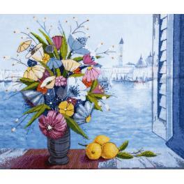 Stickpackung - Morgen in Venedig