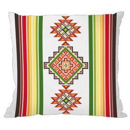 Stickpackung mit Kissenbezug - Mexikanisches Kissen I