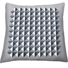 Zahlmuster online - Kissen - Dreieckillusion