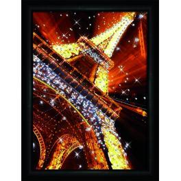 Diamond Painting Set - Lichter von Paris