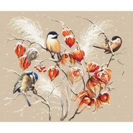 Zahlmuster online - Vogelparadies