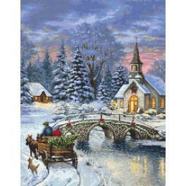 Zahlmuster online - Weihnachtsnostalgie