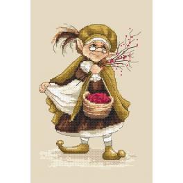 Zählmuster - Lady Troll