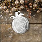 Zählmuster - Fantasievolle Weihnachtskugel