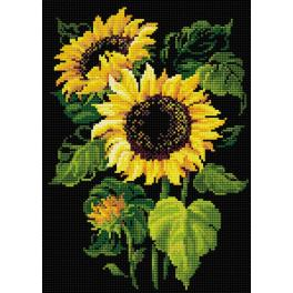 Diamond Painting Set - Sonnenblumen