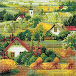 Diamond Painting Set - Serbische Landschaft
