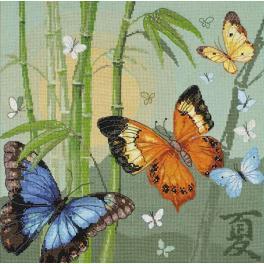 Stickpackung - Schmetterlinge