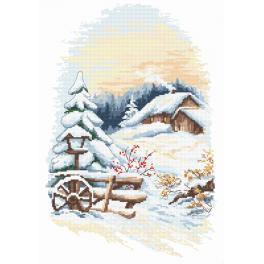 W 10155 Zahlmuster online - Wintercharme