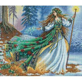 Stickpackung - Zauberin aus dem Wald