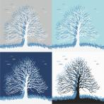 Stickpackung - Traumbäume