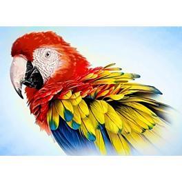 Diamond Painting Set - Papagei