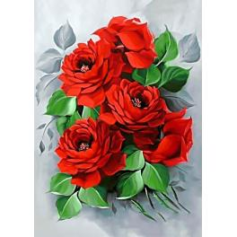 Diamond Painting Set - Elegante Rosen
