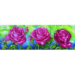 DD9.014 Diamond Painting Set - Drei Rosen
