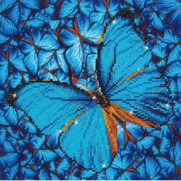 DD5.014 Diamond Painting Set - Hellblauer Schmetterling