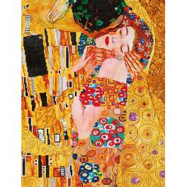 Diamond Painting Set - Kuss nach G. Klimt