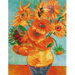 Diamond Painting Set - Sonnenblumen nach V. van Gogh