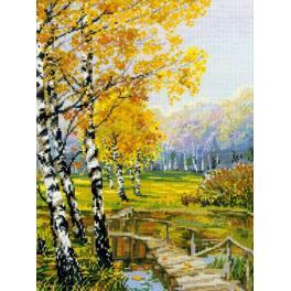 Set mit Wollgarn - Herbstbirken