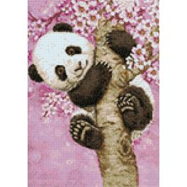 Diamond Painting Set - Süßer Panda