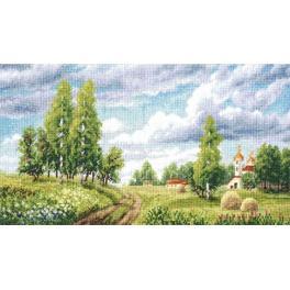 Stickpackung - Frühlingsfelder