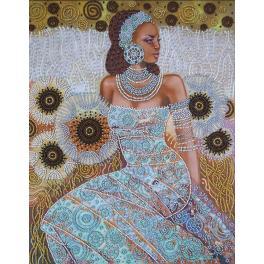 Stickpackungen mit Perlen - Prinzessin der Wüste