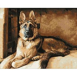 Diamond Painting Set - Schäferhund