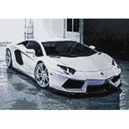 Diamond Painting Set - Lambo