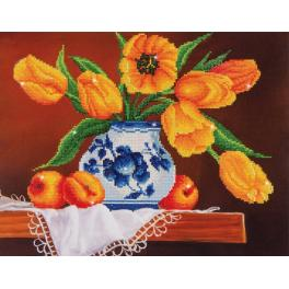 Diamond Painting Set - Gelbe Tulpen