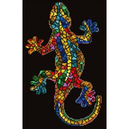 Diamond Painting Set - Gecko