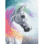 Zählmuster - Verzaubertes Pferd