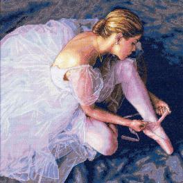 Stickpackung - Charme der Balletttänzerin