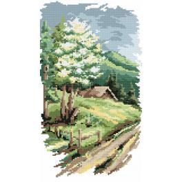 Gobelin - 4 Jahreszeiten - Der Frühling