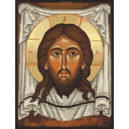 Zählmuster - Ikone Christus