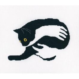 Stickpackung - Unter schwarzen Katzen