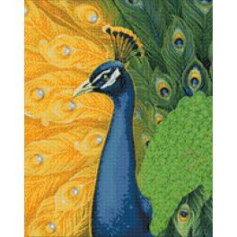 Diamond Painting Set - Pfau