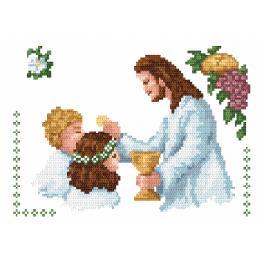 Zahlmuster online - Meine Erste Heilige Kommunion
