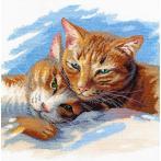 Stickpackung - Katzenglück ist nah